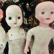 Винтаж ручной работы. Ярмарка Мастеров - ручная работа Винтажные коллекционные куклы фарфор 60-70 годы ХХ века Франция. Handmade.