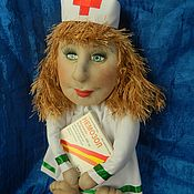 Куклы и игрушки ручной работы. Ярмарка Мастеров - ручная работа Подарок врачу. Handmade.