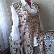 Vests handmade. Livemaster - original item Vest-wrap