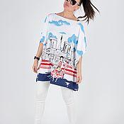 Одежда handmade. Livemaster - original item tunic: Loose women`s Tunic - TU0546TR. Handmade.