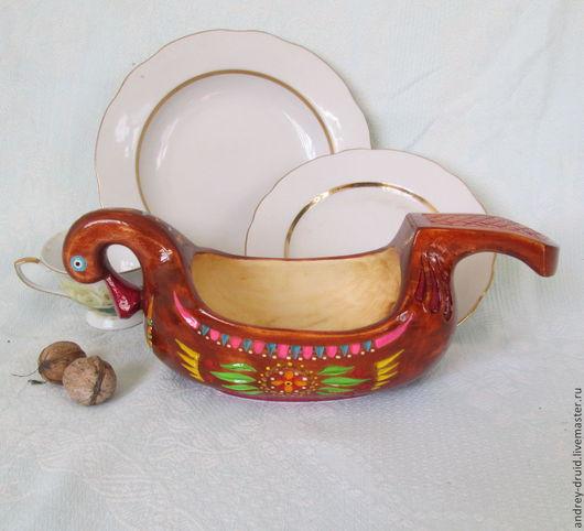 """Посуда ручной работы. Ярмарка Мастеров - ручная работа. Купить Деревянная посуда """"Братина"""". Handmade. Деревянная посуда, из дерева, ковш"""