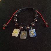 Фен-шуй и эзотерика handmade. Livemaster - original item Runic bracelet. Handmade.
