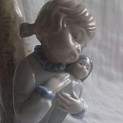 Винтаж. Коллекционный фарфоровый светильник, испанской марки ZAPHIR