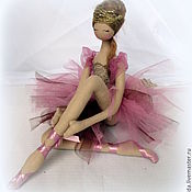 Куклы и игрушки handmade. Livemaster - original item interior doll: Ballerina
