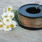 Материалы для творчества handmade. Livemaster - original item 1,5 mm brass wire. Handmade.