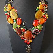 Украшения handmade. Livemaster - original item Necklace Autumn Wedding. Handmade.