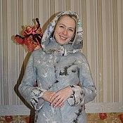 """Одежда ручной работы. Ярмарка Мастеров - ручная работа Пальто валяное """"Инесса"""". Handmade."""