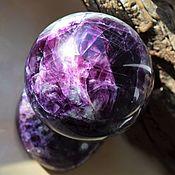 Фен-шуй и эзотерика handmade. Livemaster - original item Ball of fluorite 88mm. Handmade.