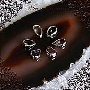 Материалы для творчества ручной работы. Ярмарка Мастеров - ручная работа Бейлы для подвесок капля, 2 вида. Handmade.