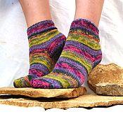 """Аксессуары ручной работы. Ярмарка Мастеров - ручная работа Вязаные носки """"Конго"""" -носочки из немецкой пряжи. Handmade."""