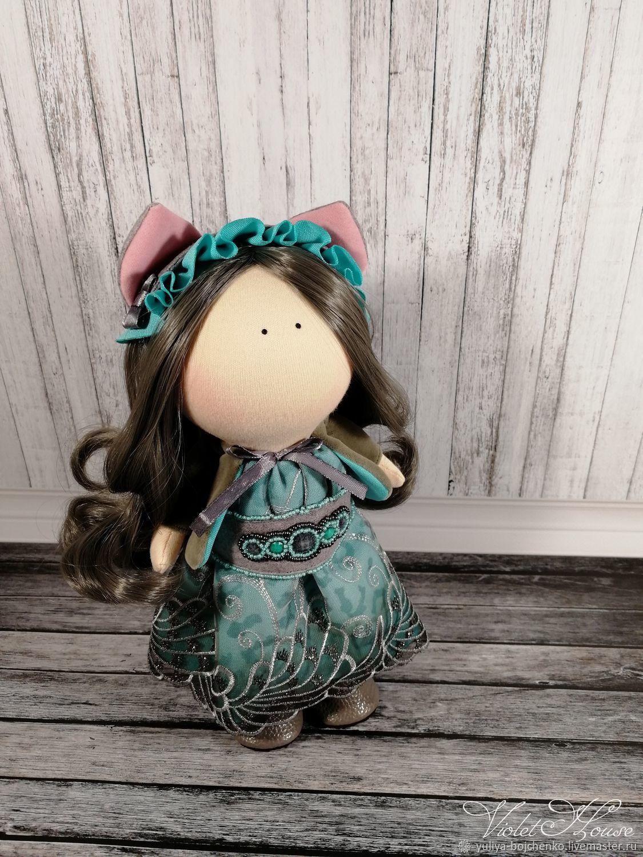 Кукла Чеширка, Тыквоголовка, Санкт-Петербург,  Фото №1
