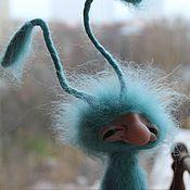 Куклы и игрушки ручной работы. Ярмарка Мастеров - ручная работа Бирюзовый. Handmade.