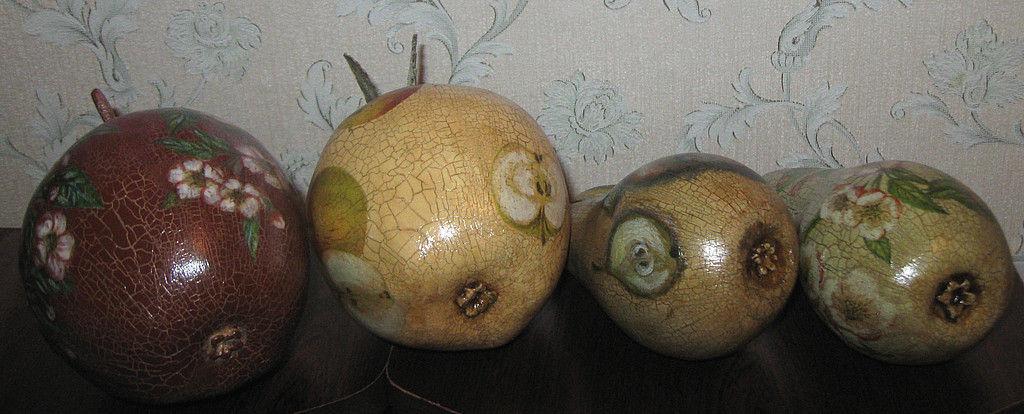 Как сделать большое яблоко 380