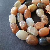 Материалы для творчества handmade. Livemaster - original item Beads solar stone Heliolite. Handmade.