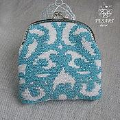 Сумки и аксессуары handmade. Livemaster - original item Wallet-cosmetic bag beaded. Handmade.