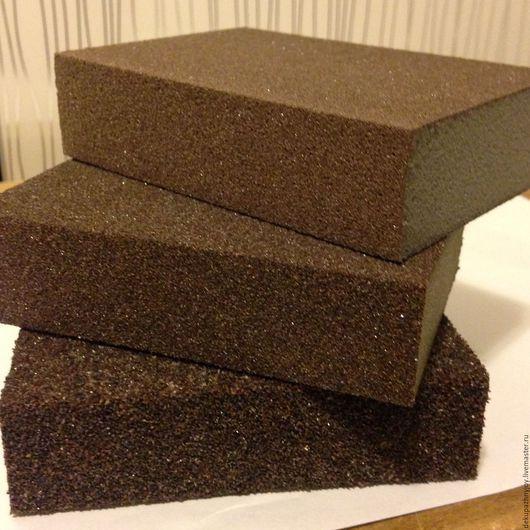 Абразивные 4-х сторонние губки (шкурки) для зачистки и подготовки поверхности перед покраской и грунтовкой В наличии губки разной зернистости Декупажная радость