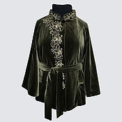 Одежда handmade. Livemaster - original item Poncho velvet. Handmade.