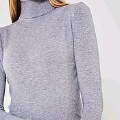 Одежда handmade. Livemaster - original item Cashmere turtleneck for every day. Handmade.
