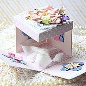 Подарки к праздникам ручной работы. Ярмарка Мастеров - ручная работа Коробочка Magic Box для поздравления. Handmade.