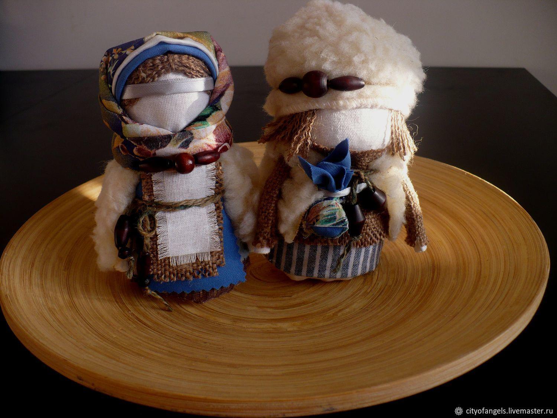 Пара Крупеничка и Богач (изобилие и достаток), Народная кукла, Нижний Новгород,  Фото №1