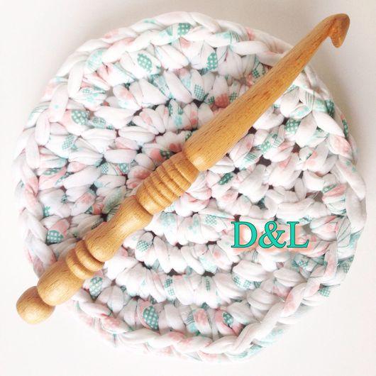 Вязание ручной работы. Ярмарка Мастеров - ручная работа. Купить Крючок для вязания номер 12, 15, 20. Handmade. Бежевый