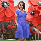 Одежда ручной работы. Ярмарка Мастеров - ручная работа Платье из льна. Handmade.