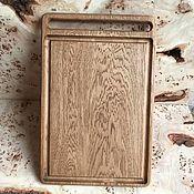 Для дома и интерьера handmade. Livemaster - original item Large cutting Board made of oak. Handmade.