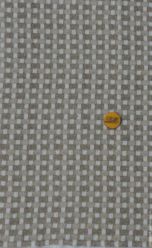 Шитье ручной работы. Ярмарка Мастеров - ручная работа. Купить Ткань лен хлопок Корзиночка. Handmade. Лен, Ткань льняная
