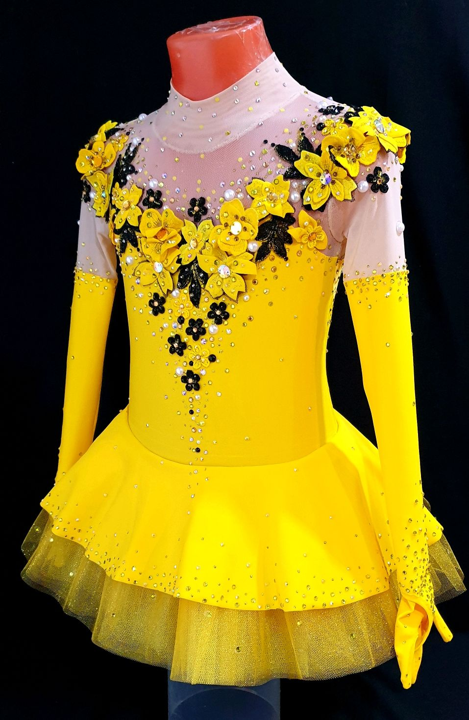 Платье для фигурного катания (110-128см,5-8лет), Платья, Клинцы,  Фото №1