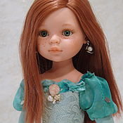 Куклы и игрушки ручной работы. Ярмарка Мастеров - ручная работа платье Русалочки для куклы 32-33 см. Handmade.