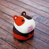 Куклы и игрушки ручной работы. Ярмарка Мастеров - ручная работа Морская свинка Норман (игрушка из шерсти). Handmade.