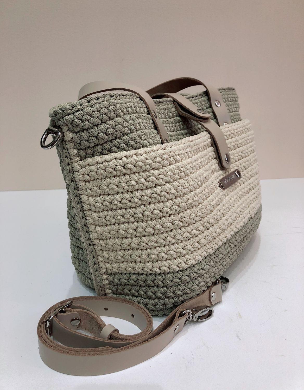 Вязаная сумка, Классическая сумка, Луховицы,  Фото №1