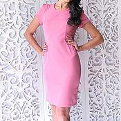Одежда manualidades. Livemaster - hecho a mano Vestido ajustado rosa. Handmade.