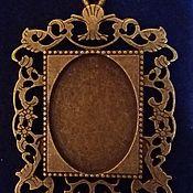 Материалы для творчества handmade. Livemaster - original item Suspension - the basis for cabochon, cameo (sold). Handmade.