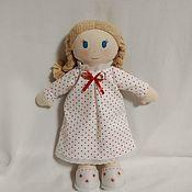 Мягкие игрушки ручной работы. Ярмарка Мастеров - ручная работа Мягкие игрушки: Французска игровая текстильная кукла Оля. Handmade.