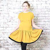 Одежда ручной работы. Ярмарка Мастеров - ручная работа Платье для беременной и не только. Handmade.