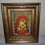 Картины и панно handmade. Livemaster - original item The Icon Of The Virgin