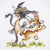 """Картины и панно ручной работы. Ярмарка Мастеров - ручная работа Вышивка """"Танцуют все!"""" (готовая работа). Handmade."""