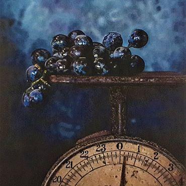 Картины и панно ручной работы. Ярмарка Мастеров - ручная работа Картина:Капли тепла.. Handmade.