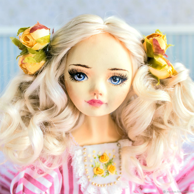 Aurelia collectible handmade doll, OOAK doll, art doll, Dolls, Nizhny Novgorod,  Фото №1