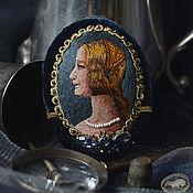 Украшения ручной работы. Ярмарка Мастеров - ручная работа брошь-портрет Medioevo. Handmade.