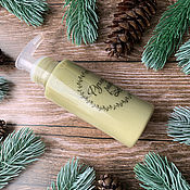 Косметика ручной работы handmade. Livemaster - original item Cream for washing and removing makeup Pine forest. Handmade.