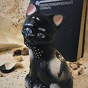 Для дома и интерьера handmade. Livemaster - original item Charlie (the cat pottery). Handmade.