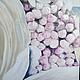 Картины цветов ручной работы. Картина маслом Вдохновение 60х90 см. Ирина Ивлиева. Ярмарка Мастеров. Цветы, фиолетовый, масло