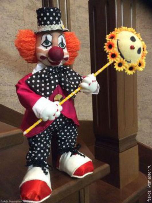 Сказочные персонажи ручной работы. Ярмарка Мастеров - ручная работа. Купить Клоун. Handmade. Рыжий, домовенок, талисман, капрон