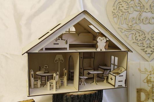 Кукольный дом ручной работы. Ярмарка Мастеров - ручная работа. Купить Домик для кукол Мини. Handmade. Дом, дом для куклы