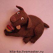 Куклы и игрушки ручной работы. Ярмарка Мастеров - ручная работа Лабрадоша)). Handmade.