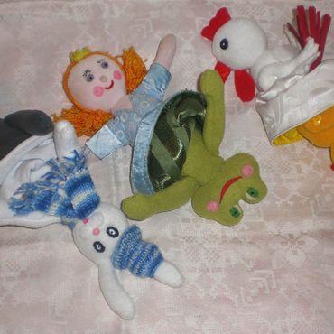 Куклы и игрушки ручной работы. Ярмарка Мастеров - ручная работа Игрушки перевертыши Лягушка Царевна и другие. Handmade.