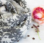 Аксессуары handmade. Livemaster - original item Woven woolen tippet