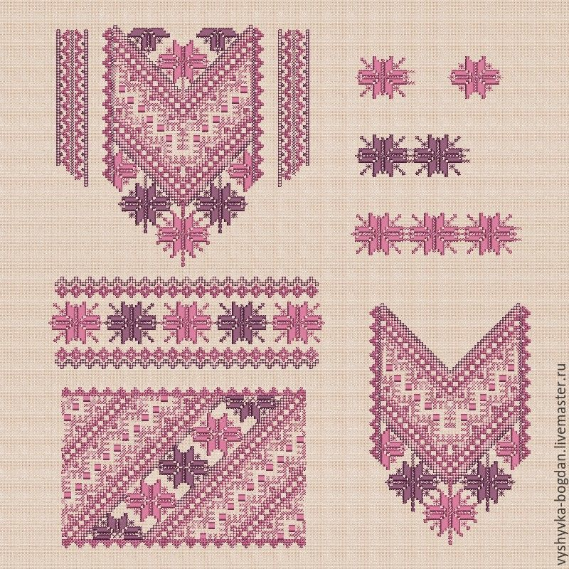 Machine Embroidery Designs Mosaic2 Set For Womens Embroidery